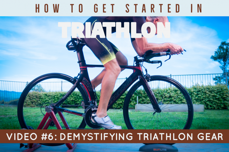 How to Get Started in Triathlon Video #6: Demystifying Triathlon Gear