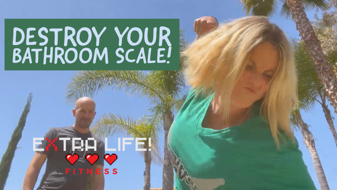 Destroy your scale